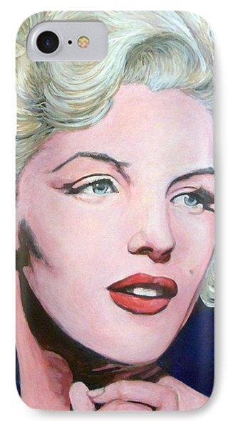 Marilyn Monroe Phone Case by Tom Roderick