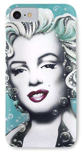 Marilyn Monroe Turquoise IPhone Case
