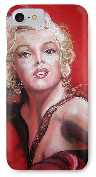 Marilyn IPhone Case by Peter Suhocke