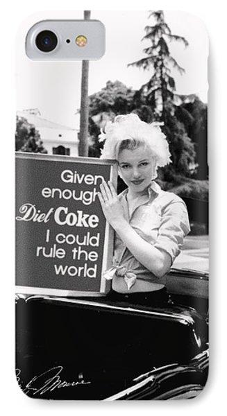 Marilyn Rules IPhone Case by Paul Van Scott