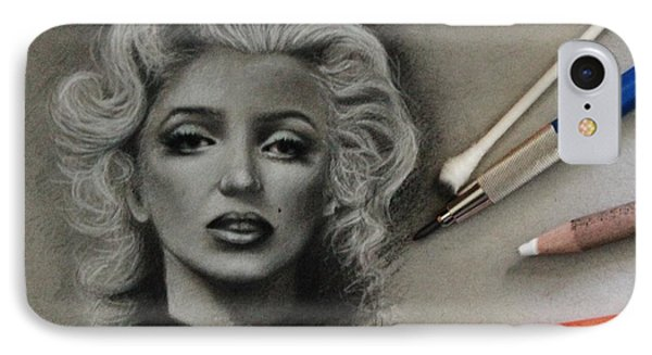 Marilyn IPhone Case by Samantha Howell