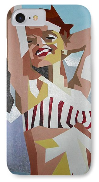 Marilyn IPhone Case by Tracey Harrington-Simpson