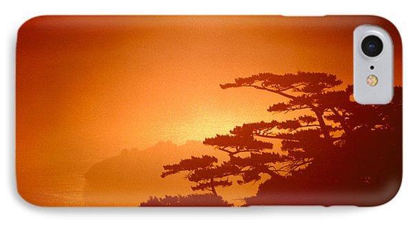 Marin County Sunset Fog IPhone Case by Wernher Krutein