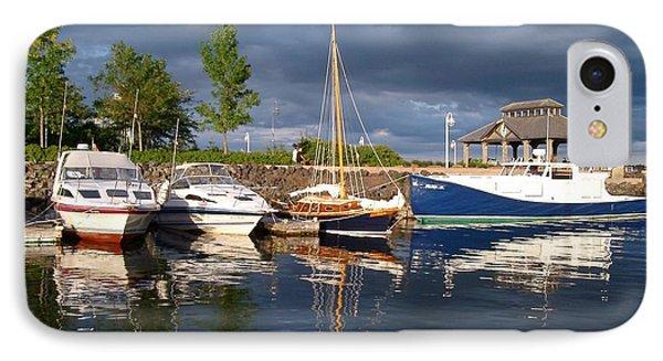 Marina At Charlottetown Prince Edward Island IPhone Case by Joyce Gebauer