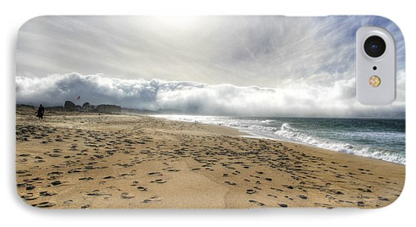 Marina Beach Walk IPhone Case