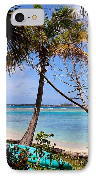 Marina Cay Beach IPhone Case by Carey Chen