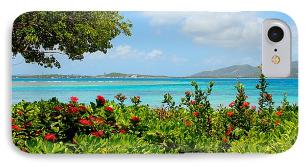 Marina Cay Dock IPhone Case by Carey Chen