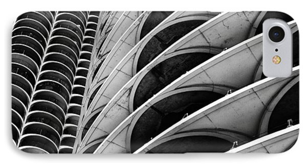 Marina City - Chicago 3 IPhone Case by Niels Nielsen