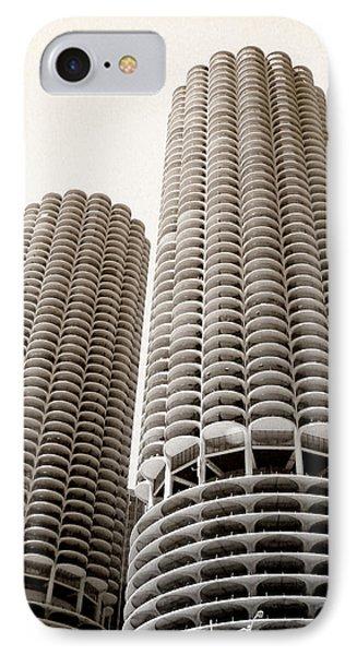 Marina City Chicago Phone Case by Julie Palencia