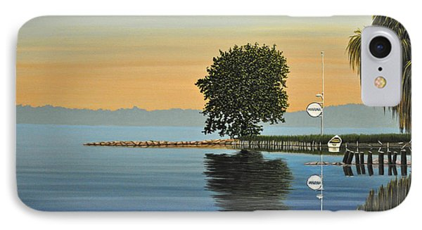 Marina Morning Phone Case by Kenneth M  Kirsch