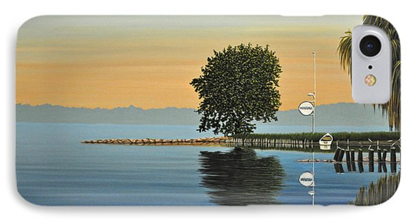 Marina Morning IPhone Case by Kenneth M  Kirsch