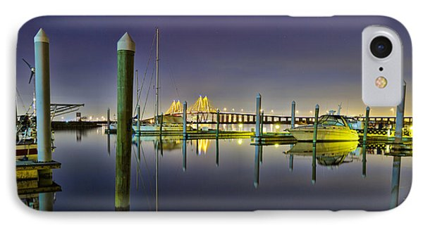 Marina Reflections IPhone Case by Tim Stanley