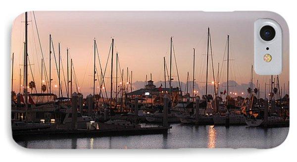 Marina Sunrise 12 IPhone Case by Leticia Latocki