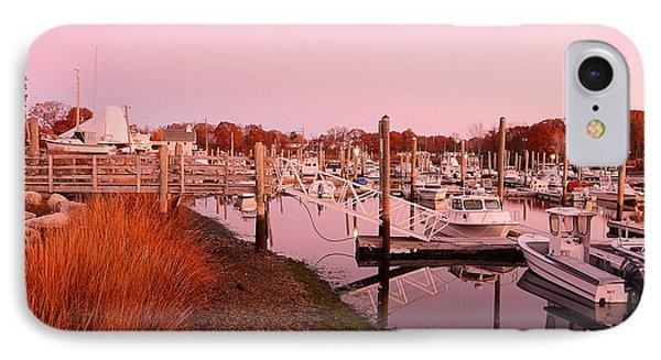 Marina Sunrise IPhone Case by Lourry Legarde