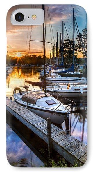 Marina Sunrise IPhone Case