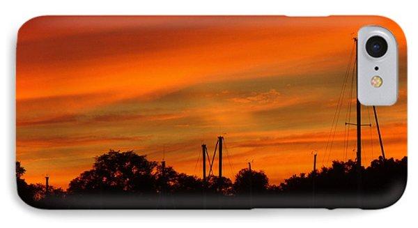 Marina Sunset IPhone Case by Deena Stoddard
