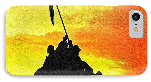 Marine Iwo Jima Memorial Dc Phone Case by Bob and Nadine Johnston