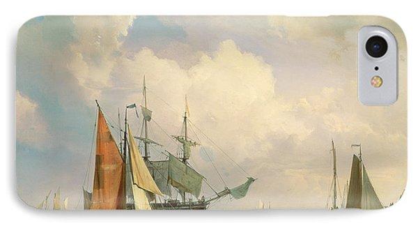 Marine  IPhone Case by Johannes Hermanus Koekkoek