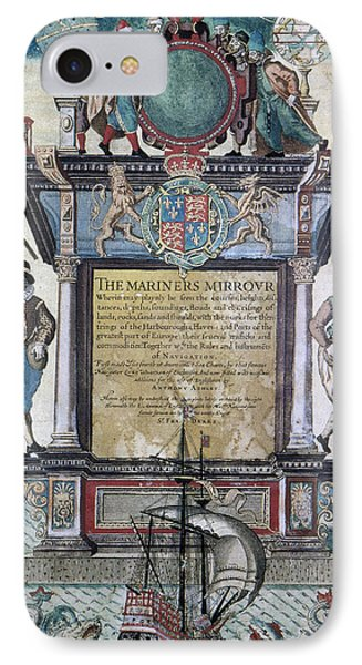 Mariners Mirror, 1588 IPhone Case by Granger