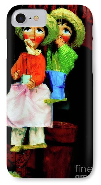 Marioneta IPhone Case by Molly McPherson