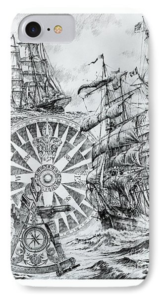 Maritime Heritage IPhone Case by James Williamson