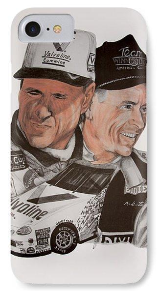 Mark Martin Race Car Driver IPhone Case
