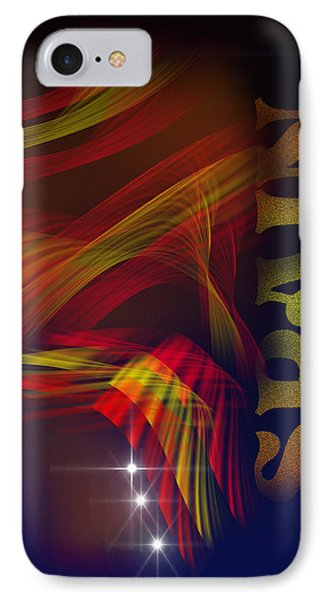 Mark Spain IPhone Case by Angel Jesus De la Fuente