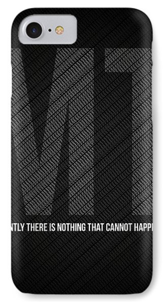 Mark Twain Quote Poster IPhone Case