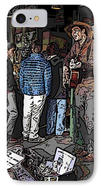 Market Busker 7 Phone Case by Tim Allen