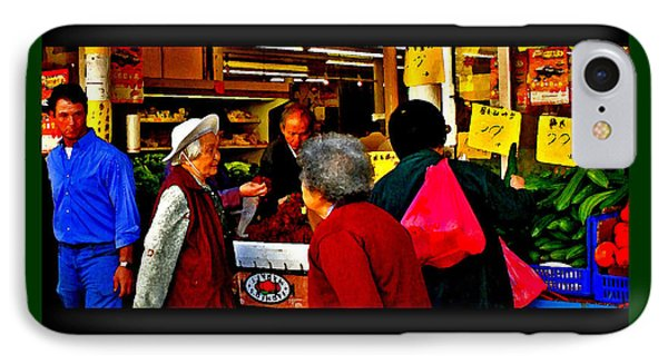 Market Day In Chinatown  Phone Case by Joseph Coulombe
