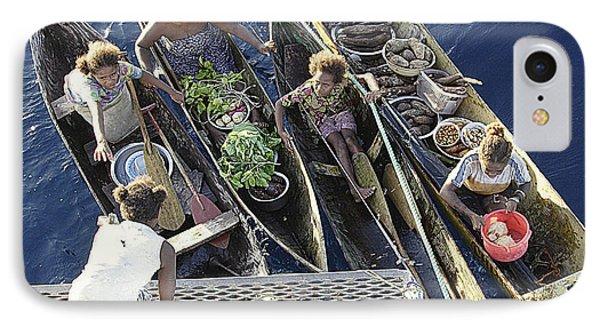Market Day Phone Case by Paula Marie deBaleau