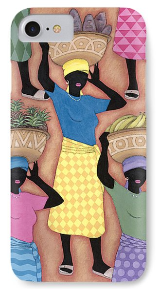 Market Day Phone Case by Sarah Porter