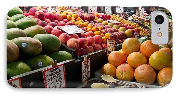 Market Fresh IPhone Case by Arlene Carmel