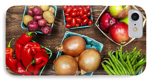 Market Fruits And Vegetables Phone Case by Elena Elisseeva