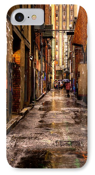 Market Square Alleyway - Knoxville Tennessee Phone Case by David Patterson