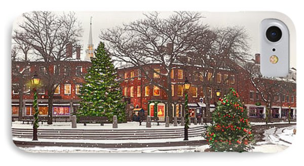 Market Square Christmas - 2013 Phone Case by John Brown