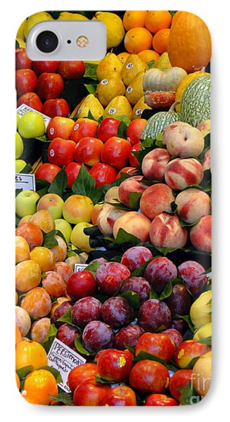 Market Time II Phone Case by Sue Melvin