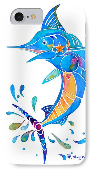 Marlin Dance Of Color IPhone Case