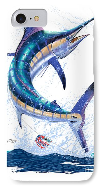 Marlin Leap IPhone Case by Carey Chen
