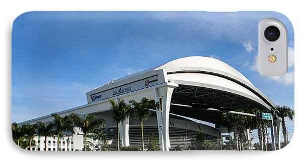 Marlins Park Stadium Miami 16 Phone Case by Rene Triay Photography