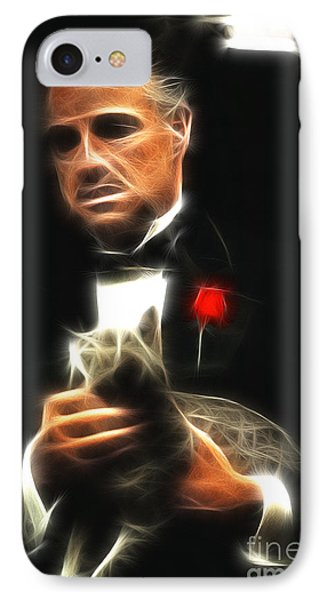 Marlon Brando IPhone Case by Doc Braham