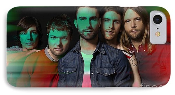 Maroon 5 Painting IPhone Case
