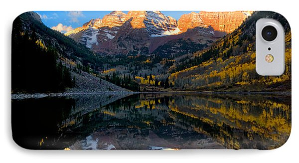 Maroon Bells Landscape IPhone Case