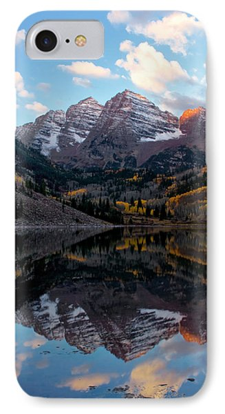 IPhone Case featuring the photograph Maroon Bells by Ronda Kimbrow