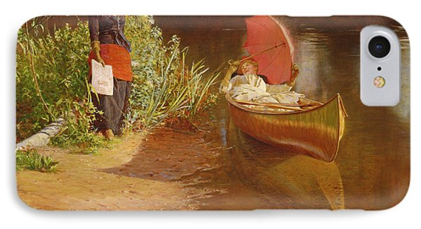 Marooned IPhone Case by Edward John Gregory