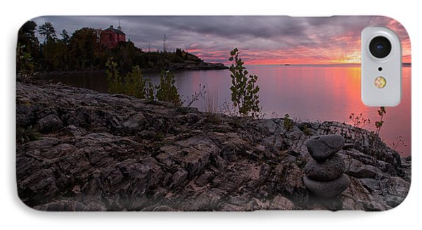 Marquette Harbor Lighthouse IPhone Case