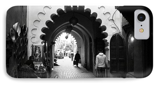 Marrakesh Medina Phone Case by Sophie Vigneault