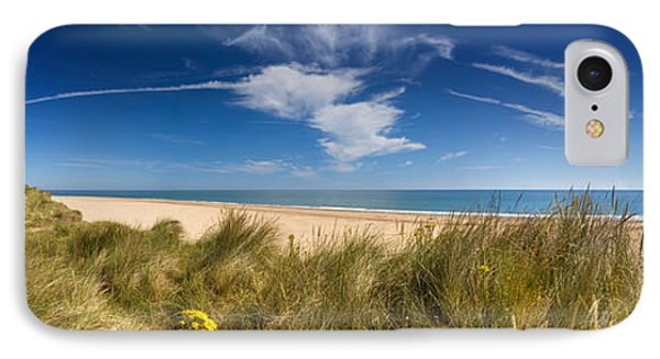 Marram Grass, Dunes And Beach IPhone Case by Panoramic Images