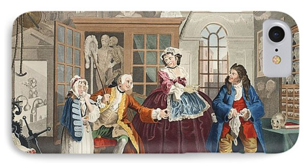 Marriage A La Mode, Plate IIi, The IPhone Case by William Hogarth