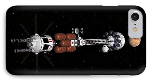 Mars Coming Into View IPhone Case by David Robinson